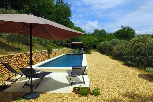 piscine - Clos de Villeneuve à Valensole