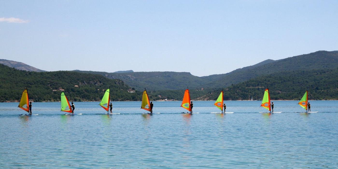 Activités nautiques sur le lac - Verdon - B Chabot